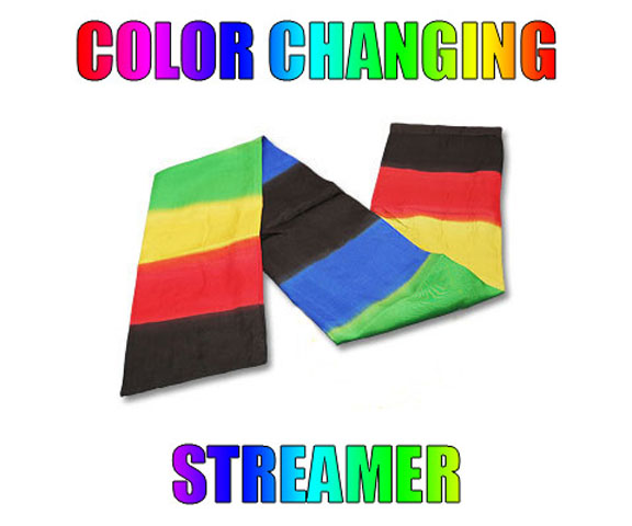 Color Changing Streamer - Vincenzo DiFatta