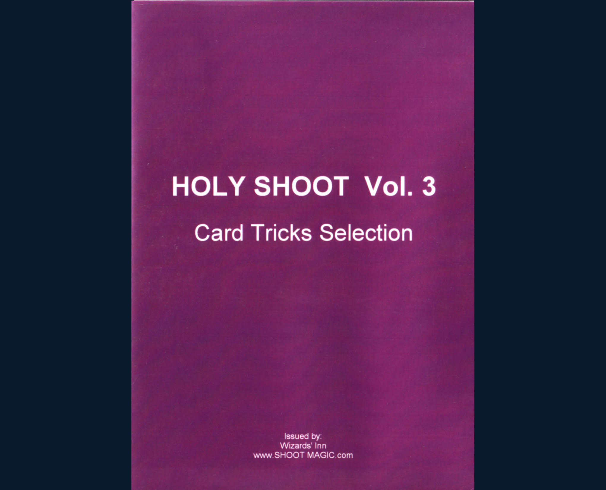 Holy Shoot - Vol. 3 - Shoot Ogawa - DVD