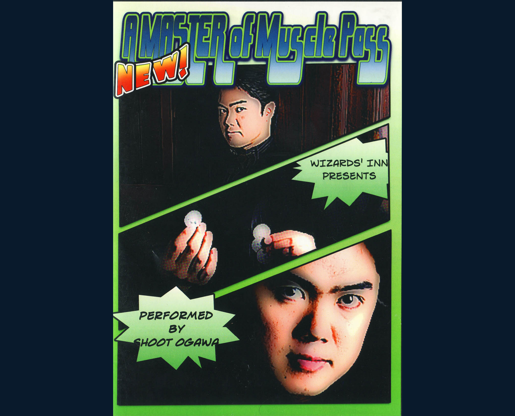 Master of Muscle Pass - Shoot Ogawa - DVD