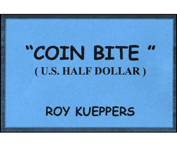 Coin Bite (U.S. Half Dollar) - Roy Kueppers